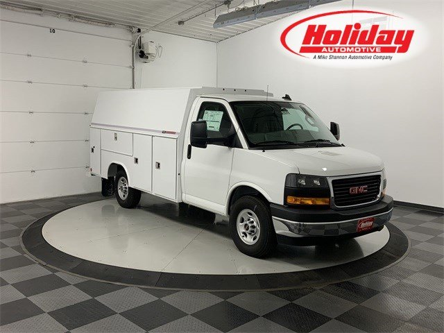 2019 GMC Savana 3500 4x2, Reading Service Utility Van #19G595 - photo 1