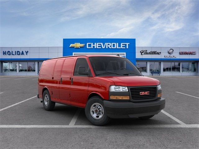 2020 GMC Savana 2500 RWD, Empty Cargo Van #20G676 - photo 1