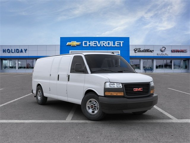 2020 GMC Savana 3500 4x2, Empty Cargo Van #20G808 - photo 1