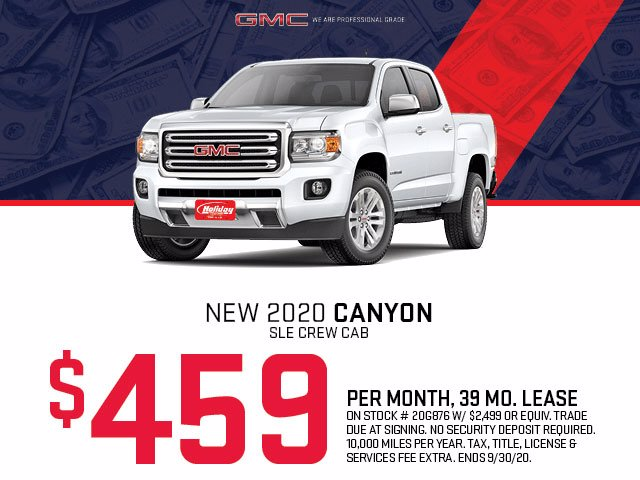2020 GMC Canyon Crew Cab 4x4, Pickup #20G876 - photo 1