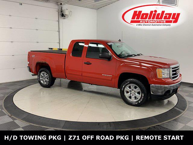 2012 GMC Sierra 1500 Extended Cab 4x4, Pickup #W5540A - photo 1
