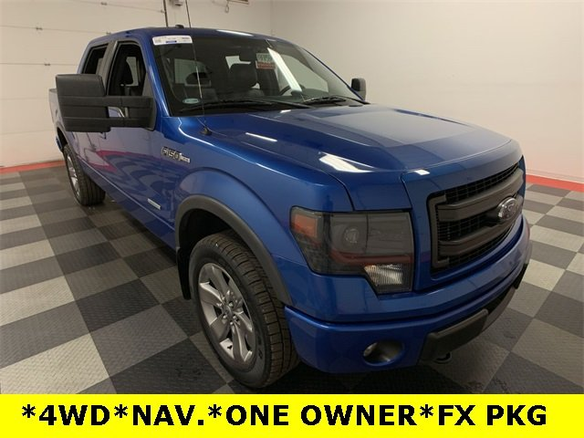 2013 F-150 SuperCrew Cab 4x4,  Pickup #18F1158A - photo 8