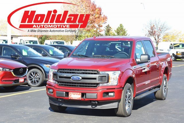 2018 F-150 Crew Cab 4x4 Pickup #18F60 - photo 1