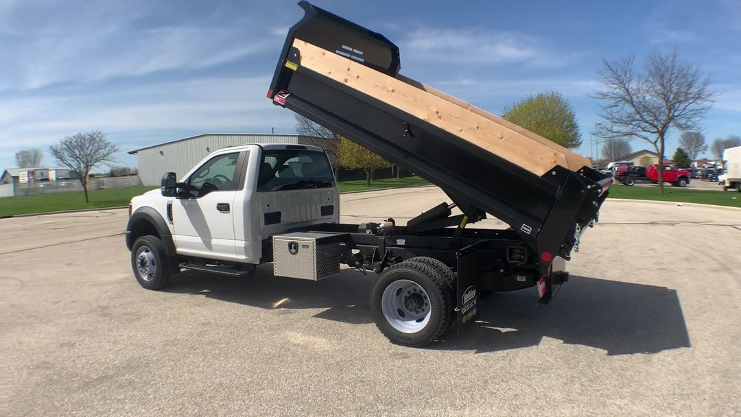 2019 F-450 Regular Cab DRW 4x4,  Monroe Dump Body #19F221 - photo 7