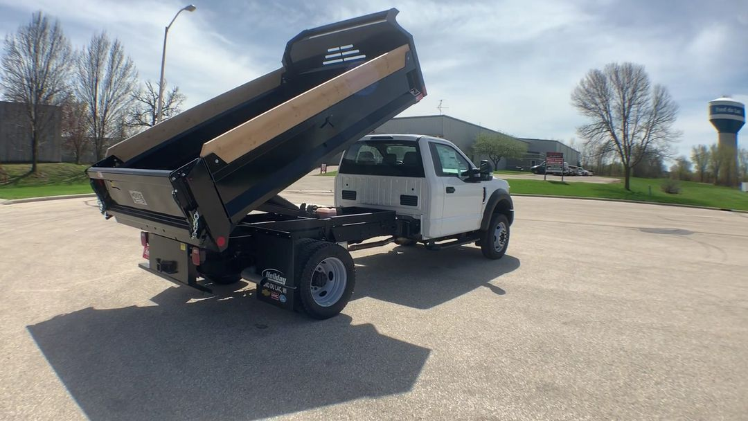 2019 F-450 Regular Cab DRW 4x4,  Monroe MTE-Zee Dump Body #19F221 - photo 9