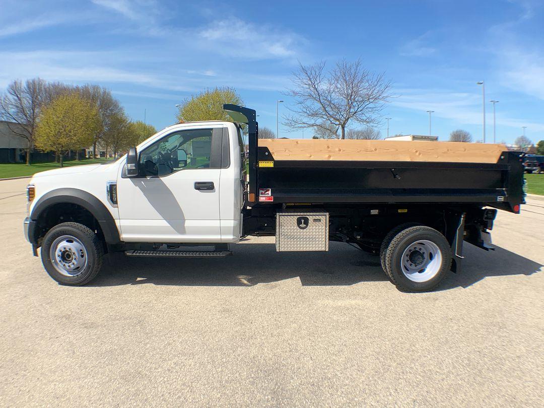 2019 F-450 Regular Cab DRW 4x4,  Monroe Dump Body #19F221 - photo 12