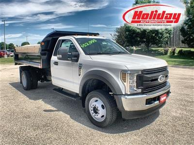 2019 F-450 Regular Cab DRW 4x4,  Monroe MTE-Zee Dump Body #19F221 - photo 1