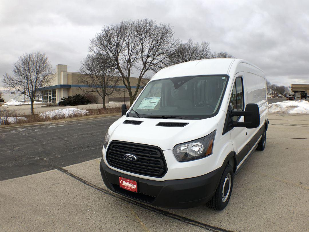 2019 Transit 350 Med Roof 4x2,  Empty Cargo Van #19F227 - photo 1