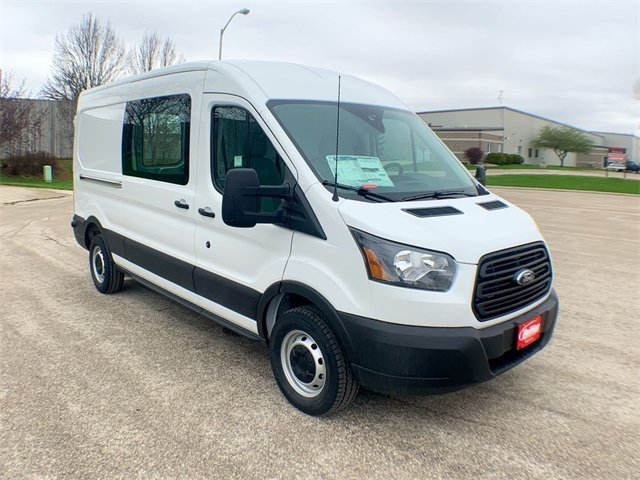 2019 Transit 250 Med Roof 4x2,  Empty Cargo Van #19F344 - photo 12