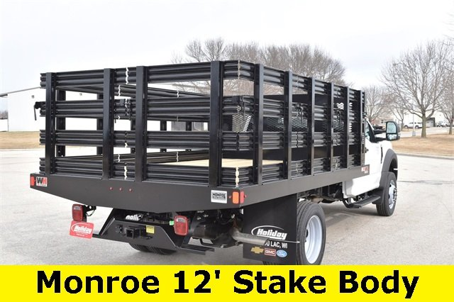 2019 F-450 Regular Cab DRW 4x2,  Monroe Stake Bed #19F355 - photo 10