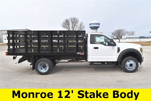 2019 F-450 Regular Cab DRW 4x2,  Monroe Stake Bed #19F355 - photo 11