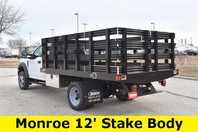 2019 F-450 Regular Cab DRW 4x2,  Monroe Stake Bed #19F355 - photo 8