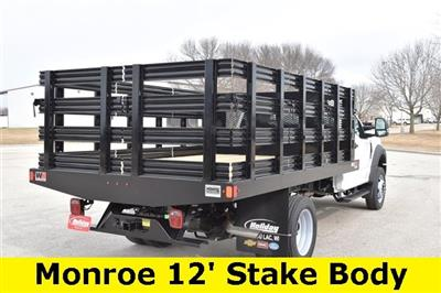 2019 F-450 Regular Cab DRW 4x2, Monroe Work-A-Hauler II Stake Bed #19F355 - photo 10