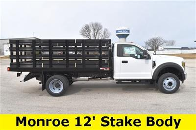 2019 F-450 Regular Cab DRW 4x2, Monroe Work-A-Hauler II Stake Bed #19F355 - photo 11