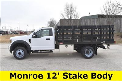 2019 F-450 Regular Cab DRW 4x2, Monroe Work-A-Hauler II Stake Bed #19F355 - photo 2