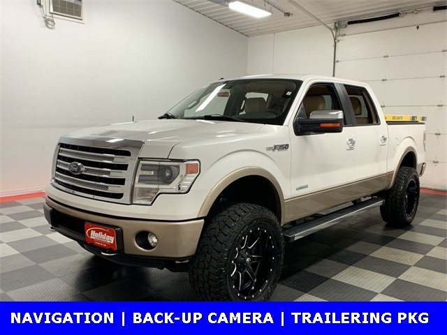 2014 F-150 SuperCrew Cab 4x4,  Pickup #19F542B - photo 4