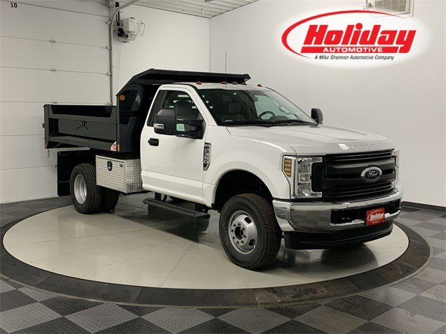 2019 F-350 Regular Cab DRW 4x4, Monroe Dump Body #19F977 - photo 1