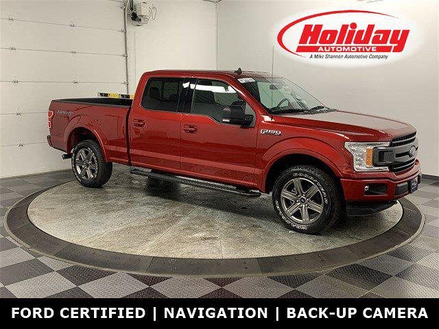 2020 Ford F-150 SuperCrew Cab 4x4, Pickup #20F255 - photo 1