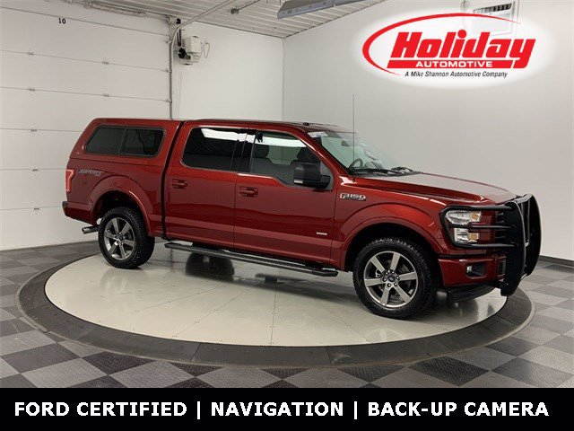 2017 Ford F-150 SuperCrew Cab 4x4, Pickup #20F305A - photo 1