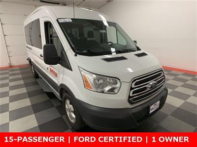 2018 Transit 350 Med Roof 4x2,  Passenger Wagon #A8827 - photo 11