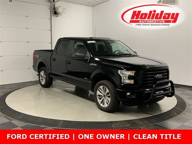 2017 F-150 SuperCrew Cab 4x4, Pickup #W1674 - photo 1