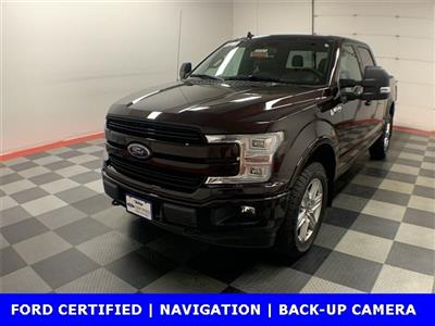 2018 F-150 SuperCrew Cab 4x4,  Pickup #W2062 - photo 1