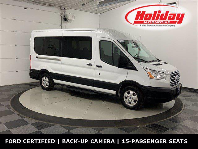 2019 Transit 350 Med Roof 4x2,  Passenger Wagon #W2482 - photo 1