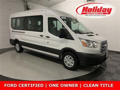 2019 Transit 350 Med Roof 4x2, Passenger Wagon #W2684 - photo 1