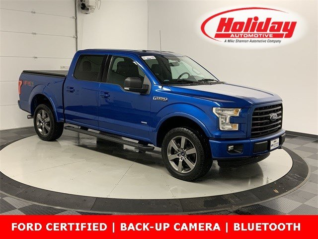 2016 F-150 SuperCrew Cab 4x4, Pickup #W2835 - photo 1