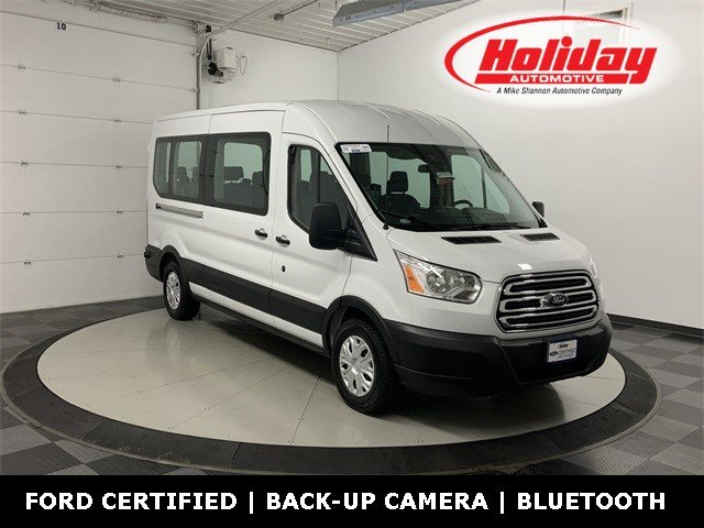 2019 Transit 350 Med Roof 4x2, Passenger Wagon #W3583 - photo 1