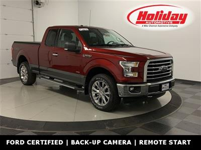 2017 F-150 Super Cab 4x4, Pickup #W3709 - photo 1