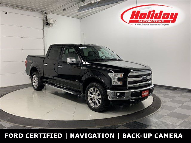 2017 Ford F-150 SuperCrew Cab 4x4, Pickup #W3865A - photo 1