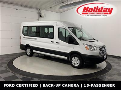 2019 Ford Transit 350 Med Roof RWD, Passenger Wagon #W4067 - photo 1