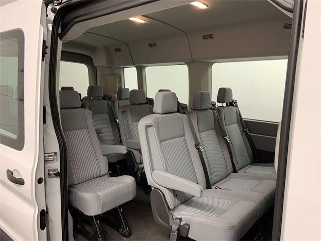 2019 Ford Transit 350 Med Roof RWD, Passenger Wagon #W4589 - photo 9