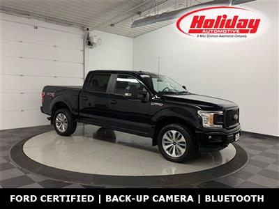 2018 Ford F-150 SuperCrew Cab 4x4, Pickup #W4821 - photo 1
