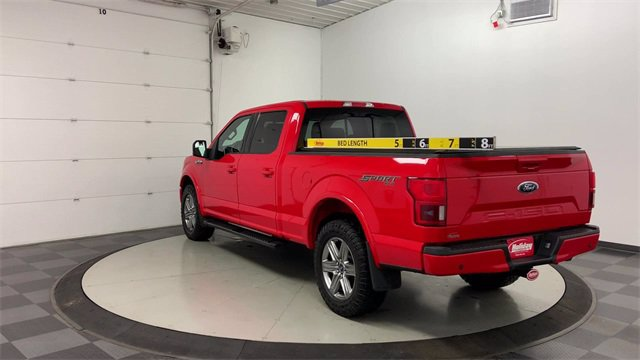 2018 Ford F-150 SuperCrew Cab 4x4, Pickup #W5010 - photo 3