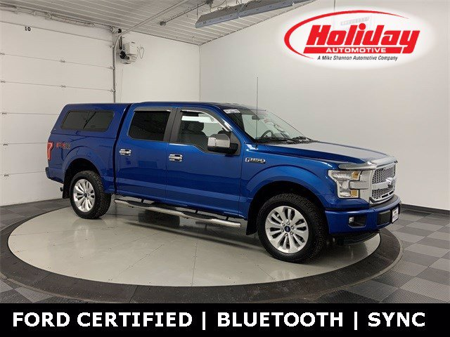 2016 Ford F-150 SuperCrew Cab 4x4, Pickup #W5096 - photo 1