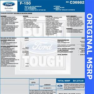2019 F-150 Super Cab 4x4,  Pickup #FC36982 - photo 2