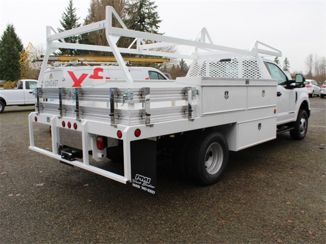 2017 F-350 Regular Cab DRW 4x4,  Scelzi Contractor Body #HA04035 - photo 2