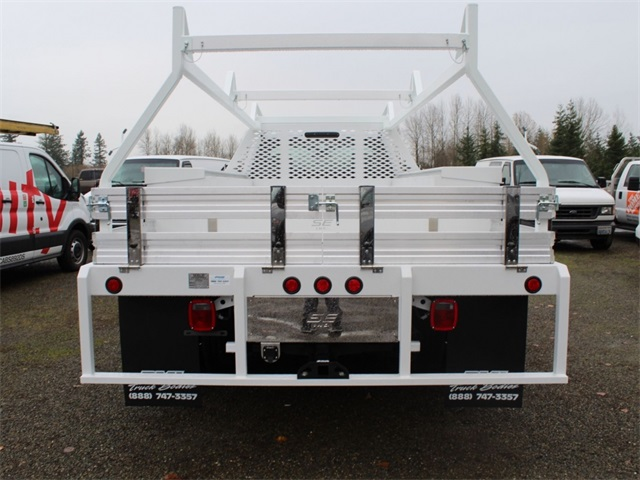 2017 F-350 Regular Cab DRW 4x4,  Scelzi Contractor Body #HA04035 - photo 5