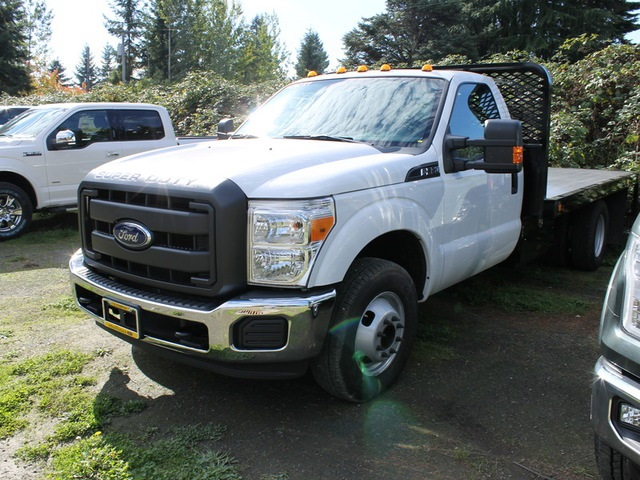 2016 F-350 Regular Cab DRW, Scelzi Platform Body #HA94089 - photo 4