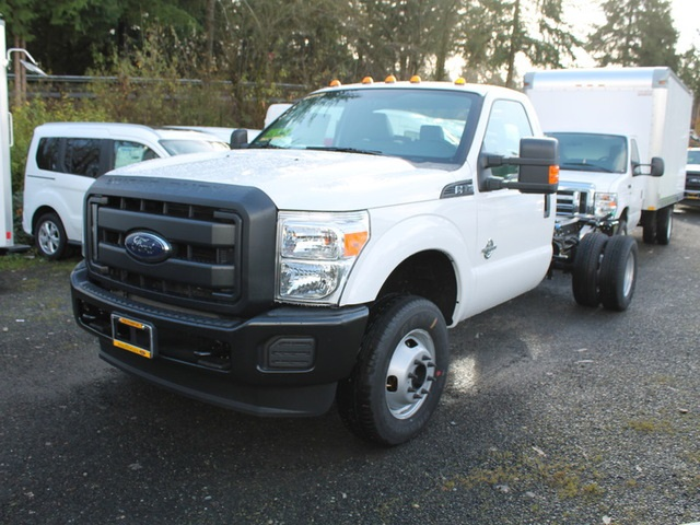 2016 F-350 Regular Cab DRW 4x4, Cab Chassis #HB45151 - photo 4