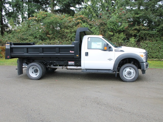 2016 F-450 Regular Cab DRW 4x4, Rugby Dump Body #HC05824 - photo 3