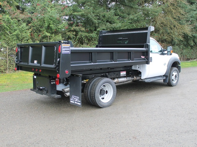 2016 F-450 Regular Cab DRW 4x4, Rugby Dump Body #HC05824 - photo 2