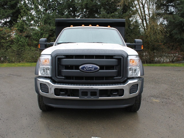 2016 F-450 Regular Cab DRW 4x4, Rugby Dump Body #HC05824 - photo 5