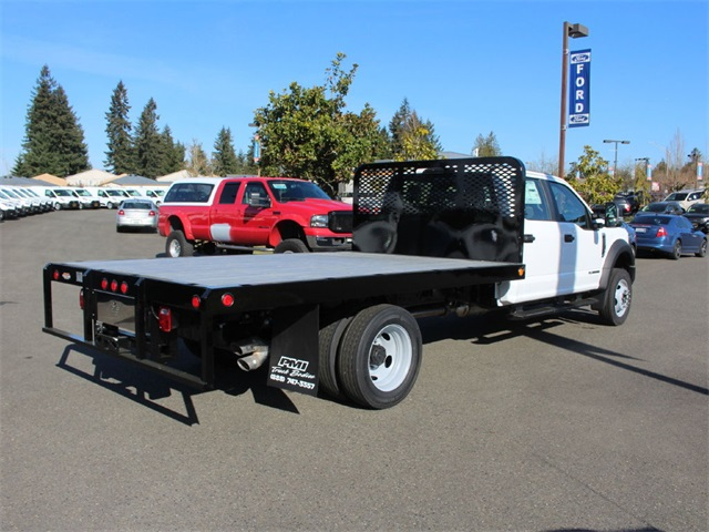 2019 F-550 Crew Cab DRW 4x4,  Scelzi Platform Body #HD96778 - photo 1