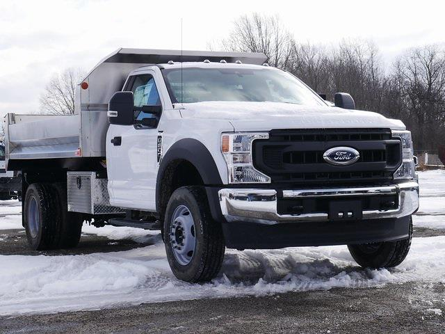 2020 Ford F-600 Regular Cab DRW 4x4, 11' Stainless Dump #CA09843 - photo 1