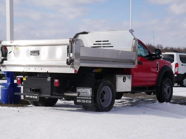 2020 Ford F-600 Regular Cab DRW 4x4, 9' Stainless Dump #CA09926 - photo 1