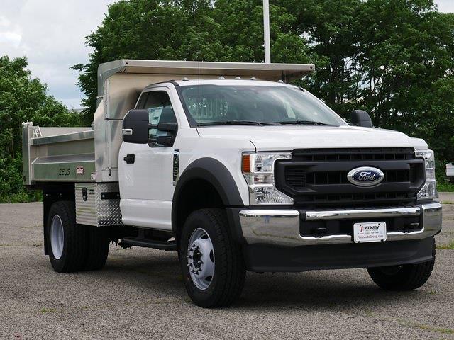 2020 Ford F-600 Regular Cab DRW 4x4, 9' Aluminum Dump #CA11600 - photo 1