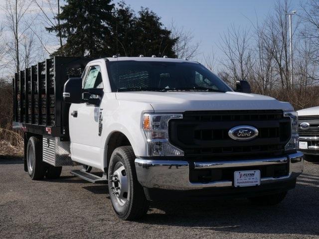 2020 Ford F-350 Regular Cab DRW 4x2, Monroe Stake Bed #CC14035 - photo 1